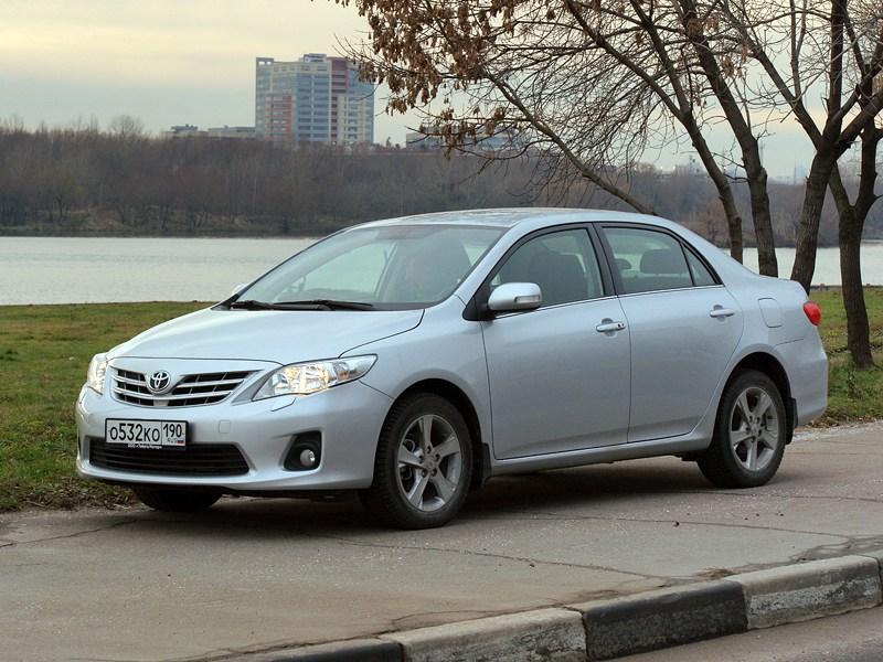 Toyota Corolla - toyota corolla 2010 вид спереди