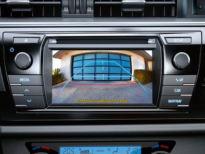Toyota Corolla 2014 монитор