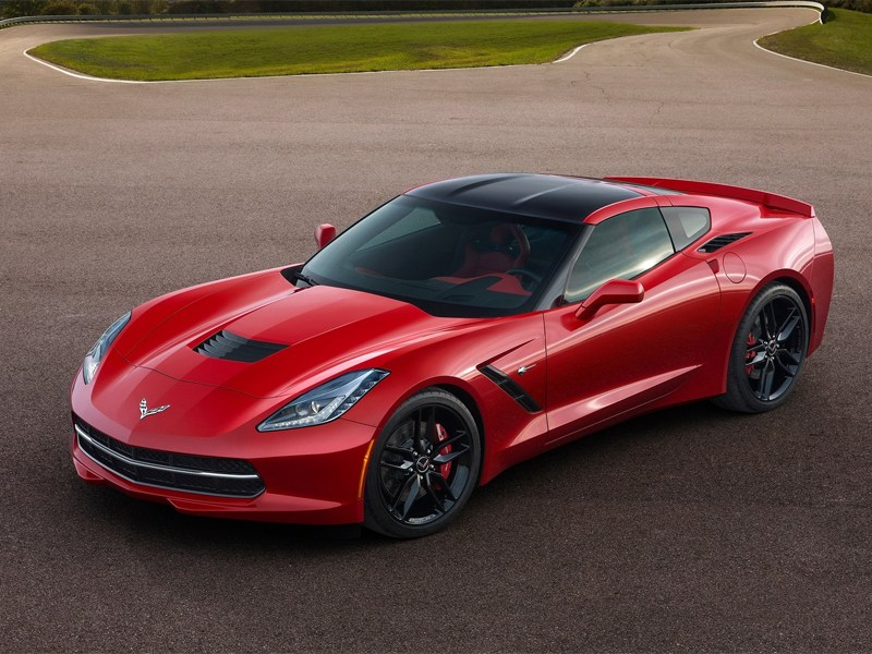 Chevrolet Corvette Stingray C7 2013 вид спереди