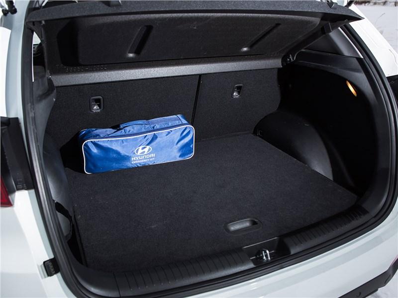 Hyundai Creta 2016 багажное отделение
