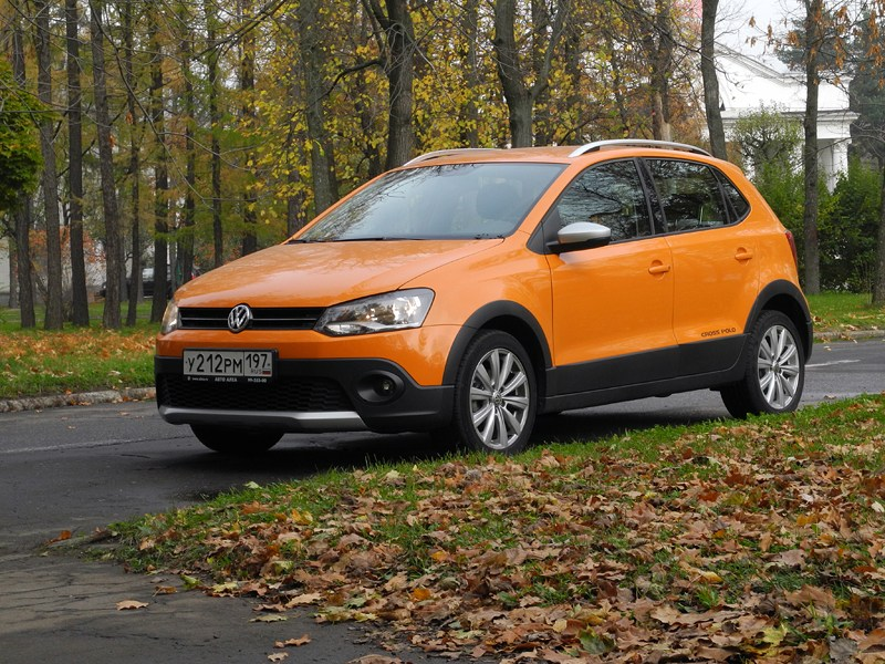 Volkswagen Cross Polo 2010 вид спереди