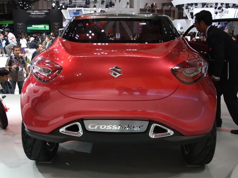 Suzuki Crosshiker concept 2013 вид сзади