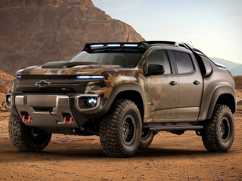 Chevrolet представил новый водородный внедорожник