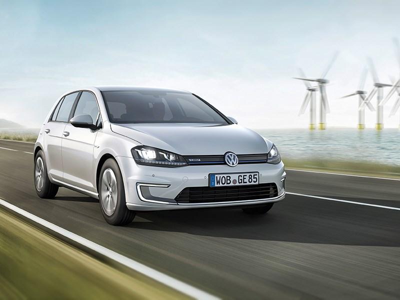 Новый Volkswagen e-Golf - Бытовое электричество