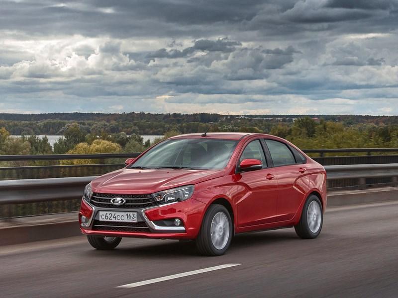 АвтоВАЗ представил новую топовую комплектацию седана Lada Vesta