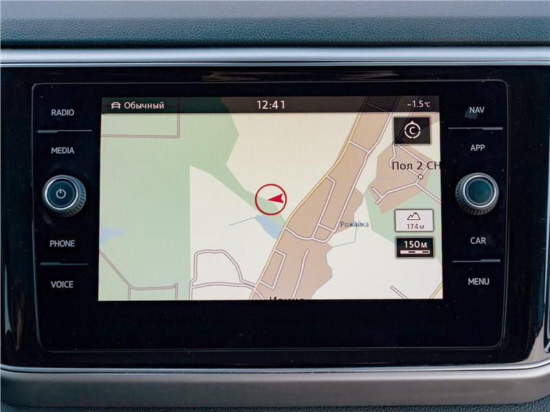 Volkswagen Teramont (2018) монитор