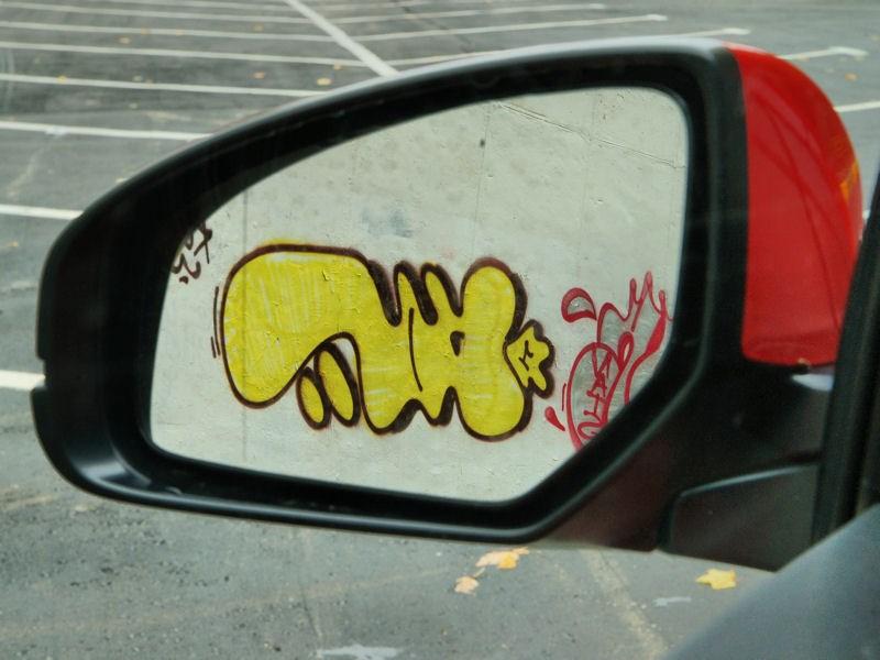Honda Civic 2012 наружное зеркало