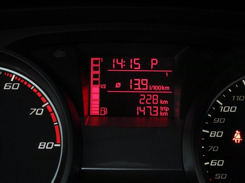 SEAT Ibiza 2012 дисплей бортового компьютера