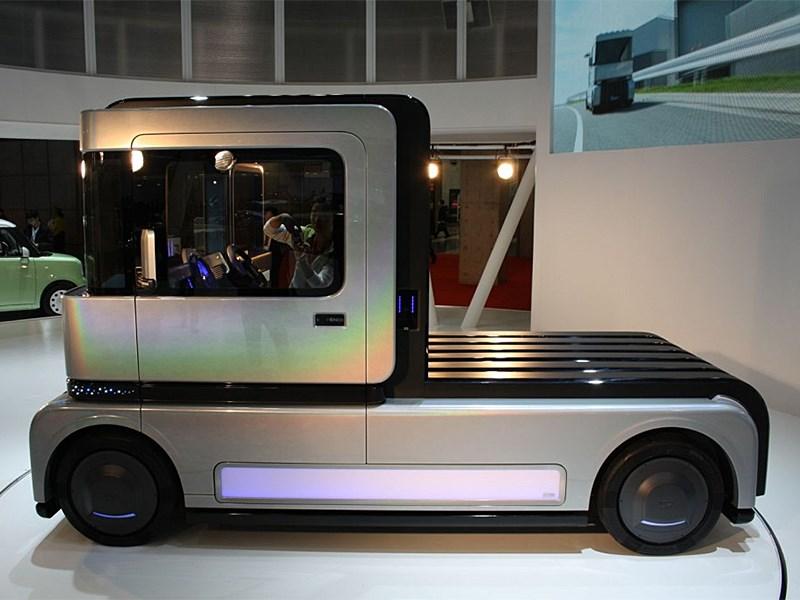 Daihatsu FC Deco Deck Concept 2013 вид сбоку