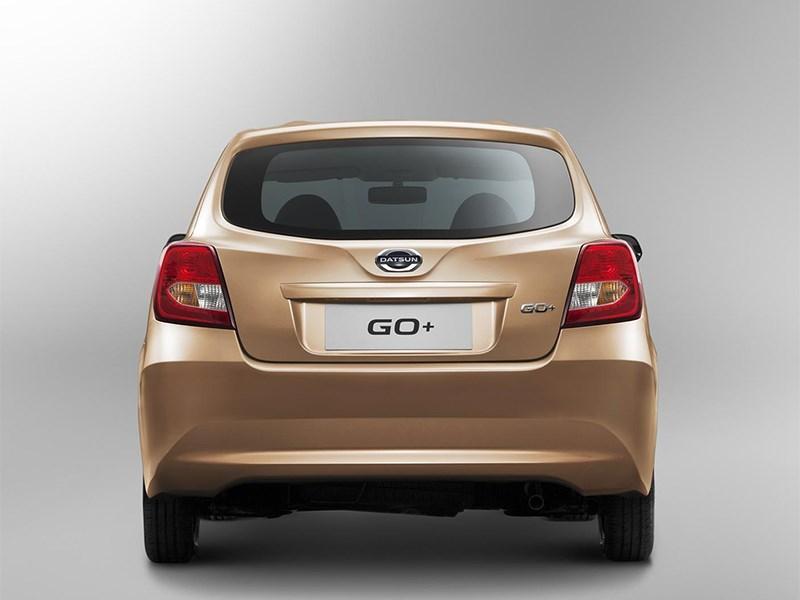 Datsun GO+ 2013 вид сзади