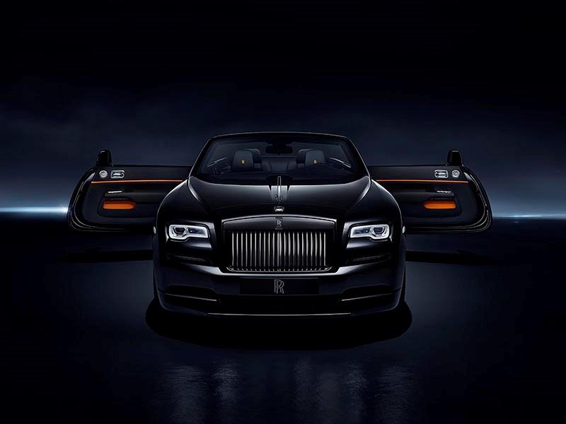 Rolls-Royce сделал спецверсию кабриолета Dawn