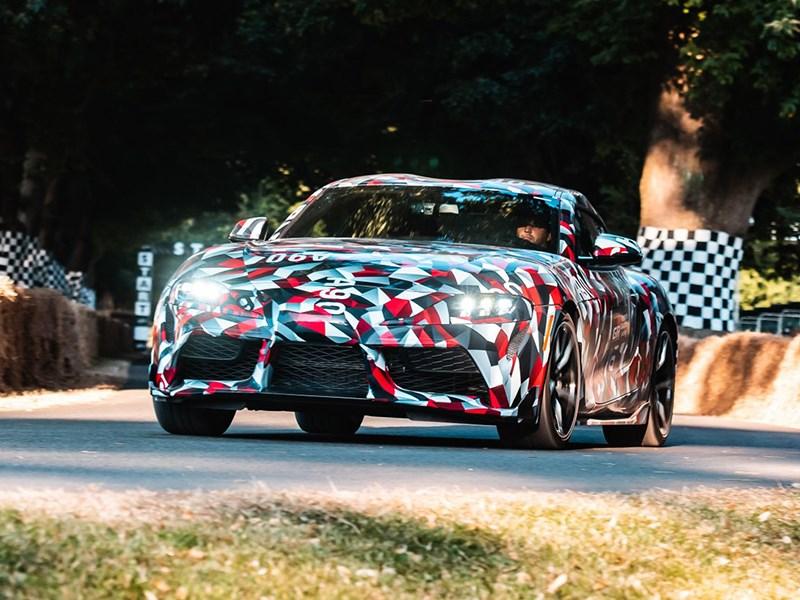 В Гудвуде показали прототип новой Toyota Supra Фото Авто Коломна