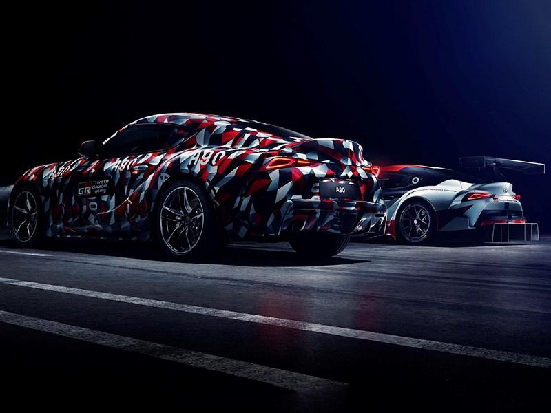 Toyota Supra получит двигатель BMW Фото Авто Коломна