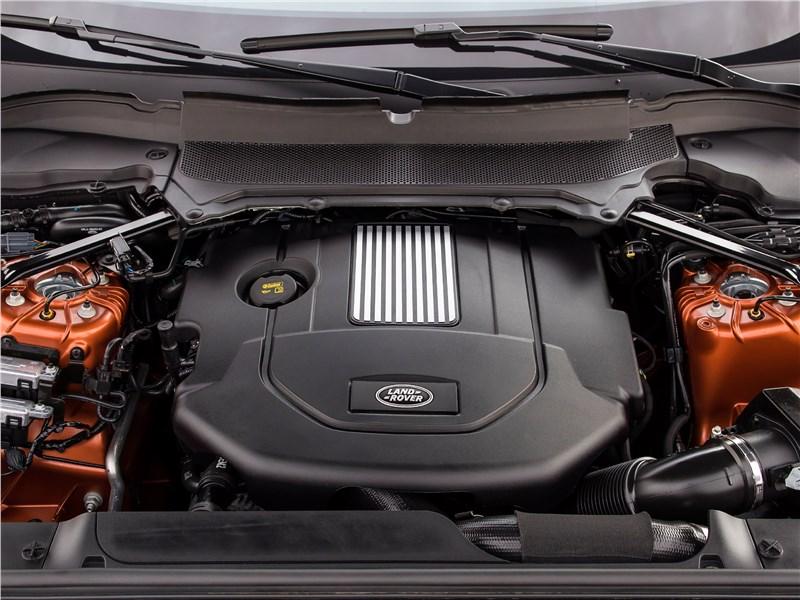 Land Rover Discovery 2017 двигатель