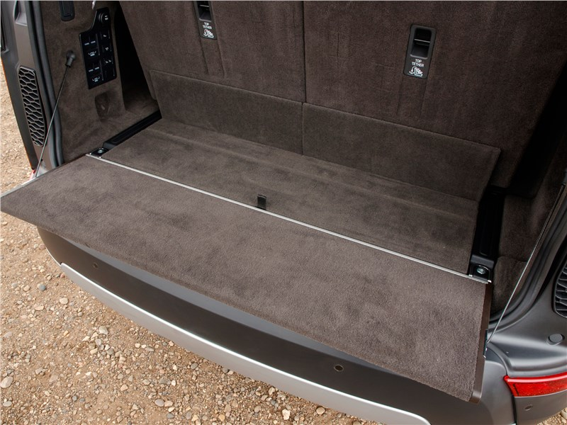 Land Rover Discovery 2017 багажное отделение