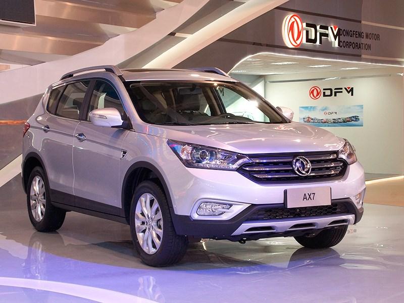 Новый DFM AX7 - Dongfeng AX7 2015 Официально похожий