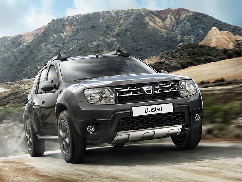 Новый Dacia Duster - Dacia Duster 2014 вид спереди