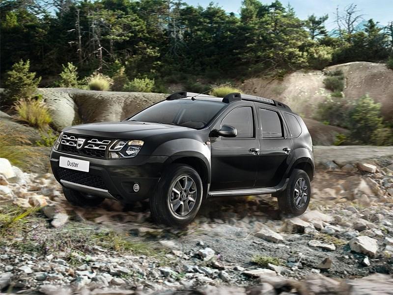Dacia Duster 2014 вид спереди 3/4