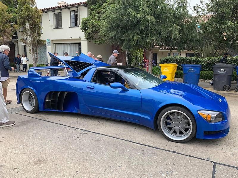 Американцы создали очень странный Chevrolet Corvette