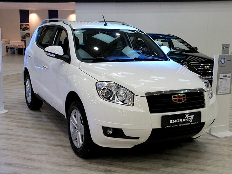 Geely, Emgrand X7
