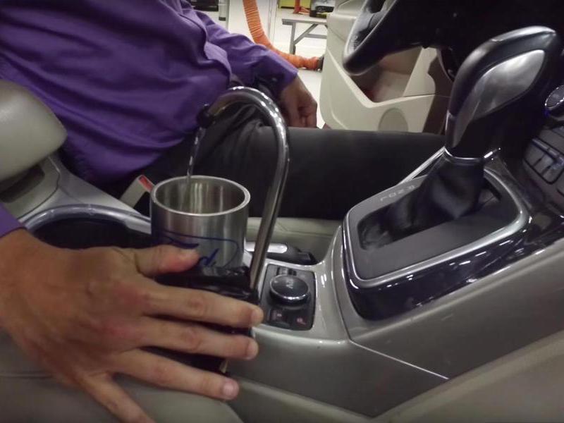 Ford предлагает комплектовать автомобили кранами с питьевой водой