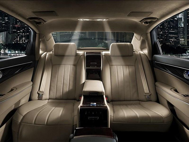Hyundai Equus Limousine Security 2012 места для пассажиров