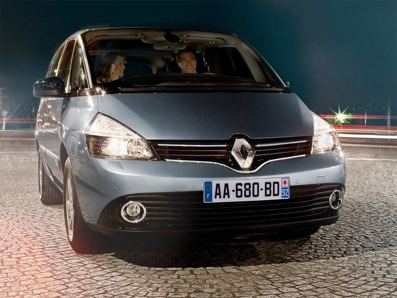 Renault Espace 2013 вид спереди