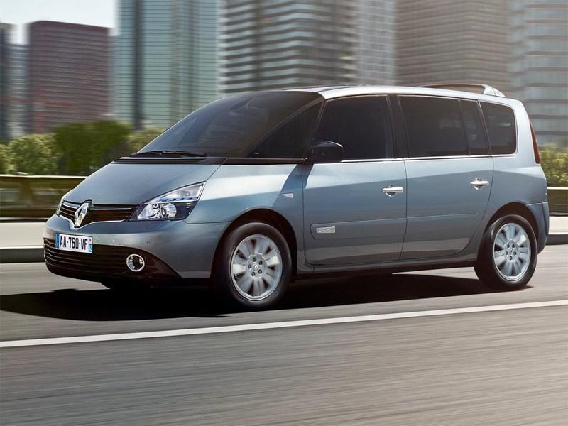 Renault Espace 2013 вид сбоку