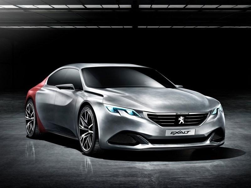 Peugeot Exalt concept 2014 Лев и акула