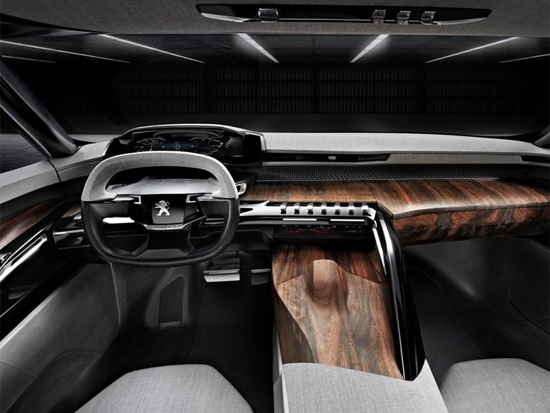 Peugeot Exalt concept 2014 водительское место