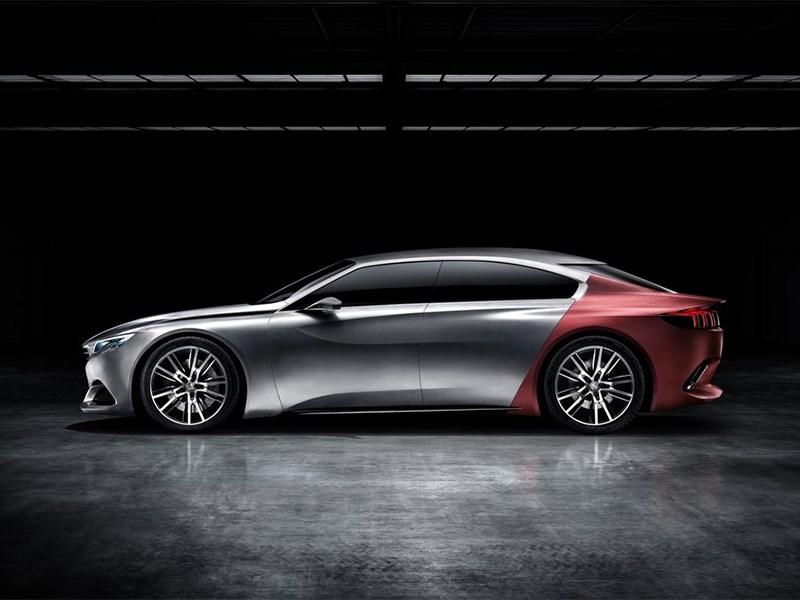 Peugeot Exalt concept 2014 вид сбоку