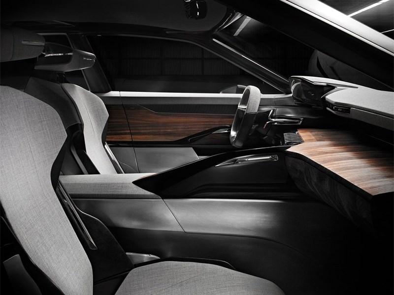 Peugeot Exalt concept 2014 передние кресла