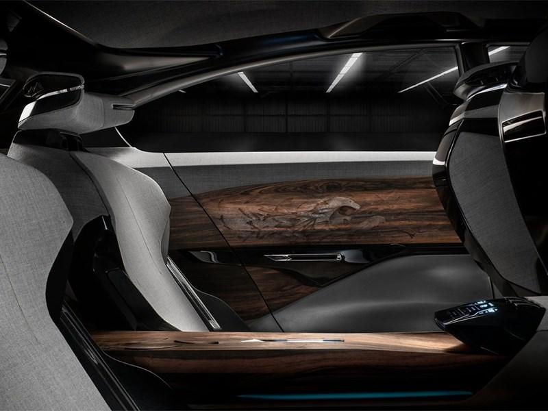 Peugeot Exalt concept 2014 задний ряд