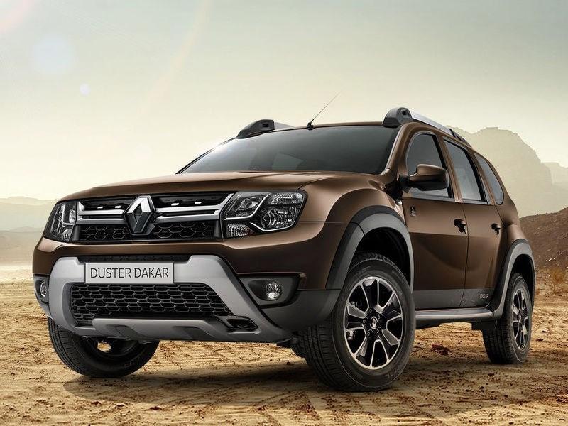 Renault представил новую спецверсию кроссовера Duster