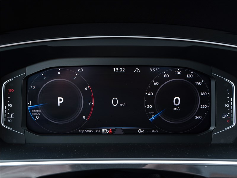 Volkswagen Tiguan (2021) приборная панель
