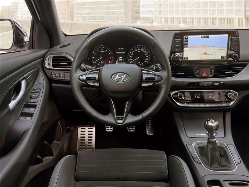 Hyundai i30 Fastback N Line 2019 салон