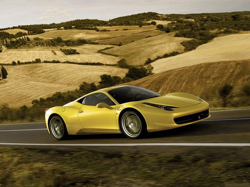 Ferrari 458 Italia получила механическую коробку