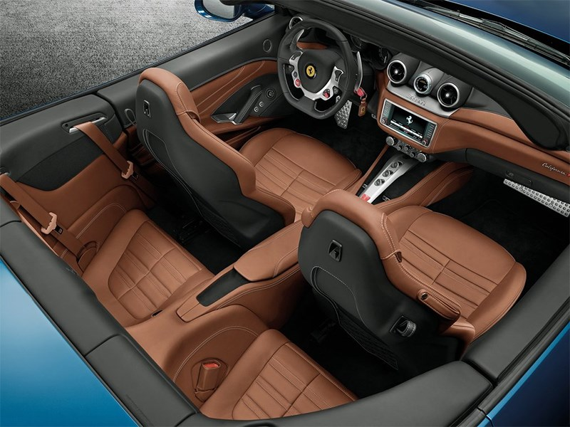 Ferrari California 2014 интерьер