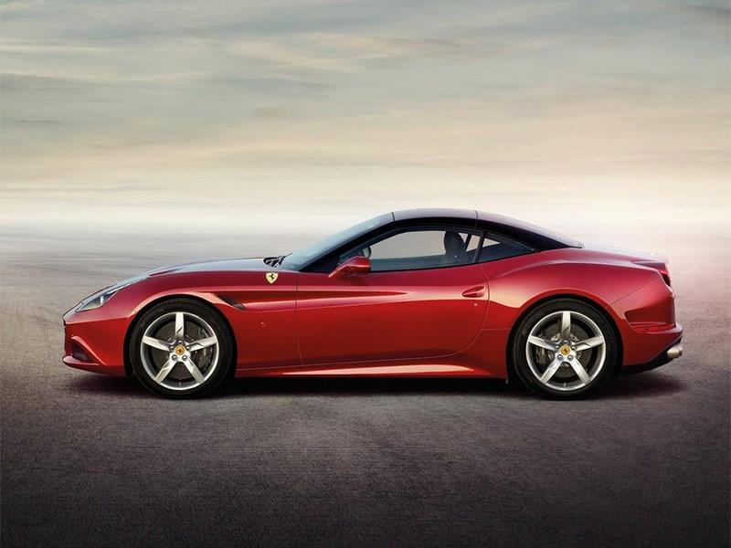 Ferrari California 2014 вид сбоку фото 2