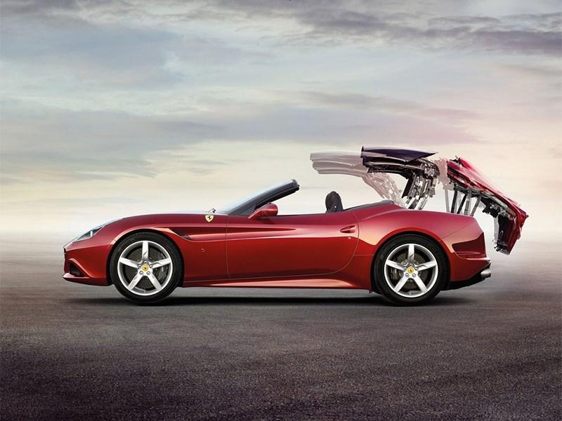Ferrari California 2014 вид сбоку фото 3