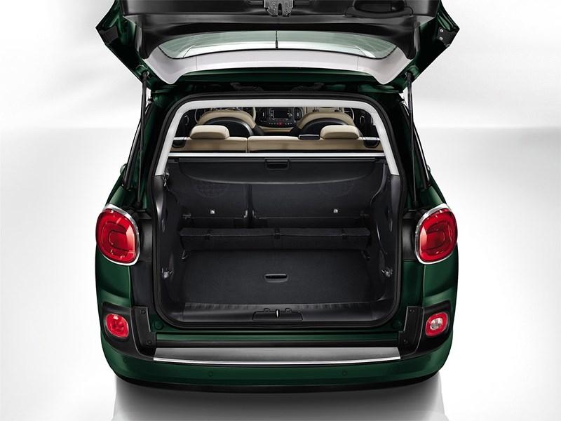 Fiat 500L Living 2014 багажное отделение