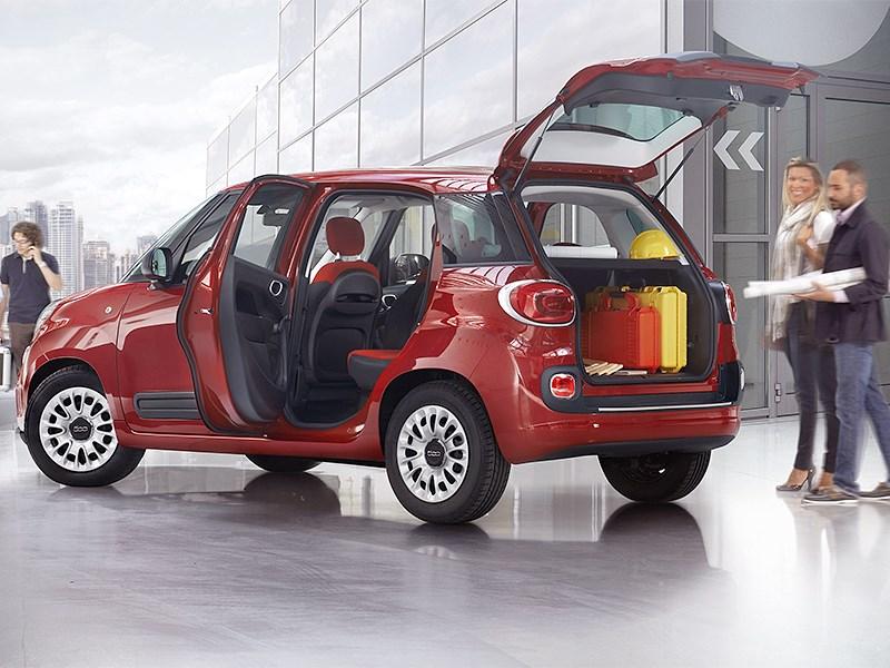 Новый Fiat 500L Pro - Fiat 500L Pro 2014 вид сбоку