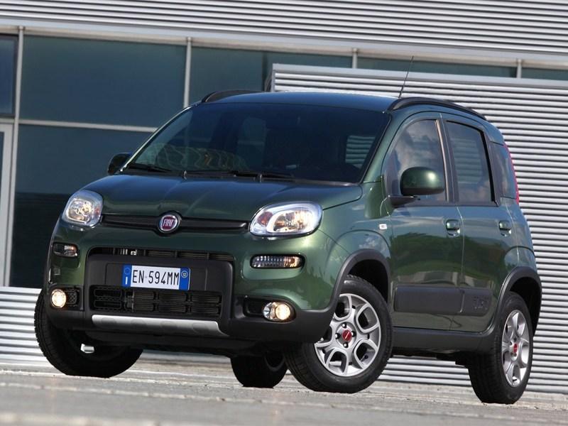 Fiat Panda 4x4 2013 вид спереди