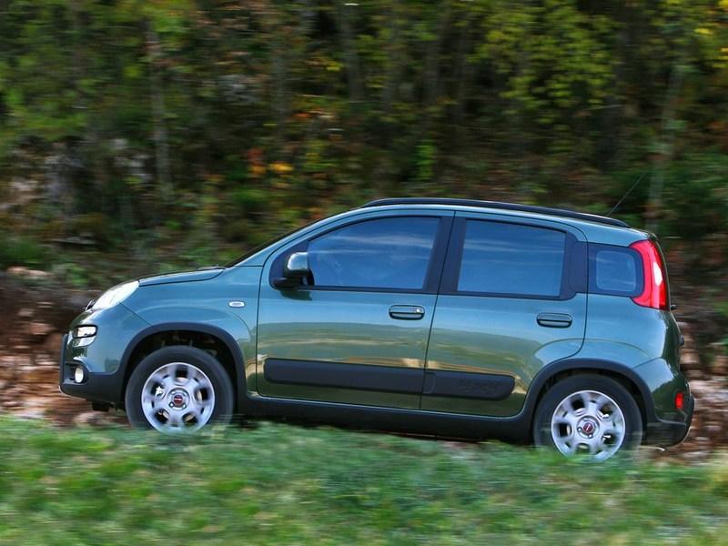 Fiat Panda 4x4 2013 вид сбоку