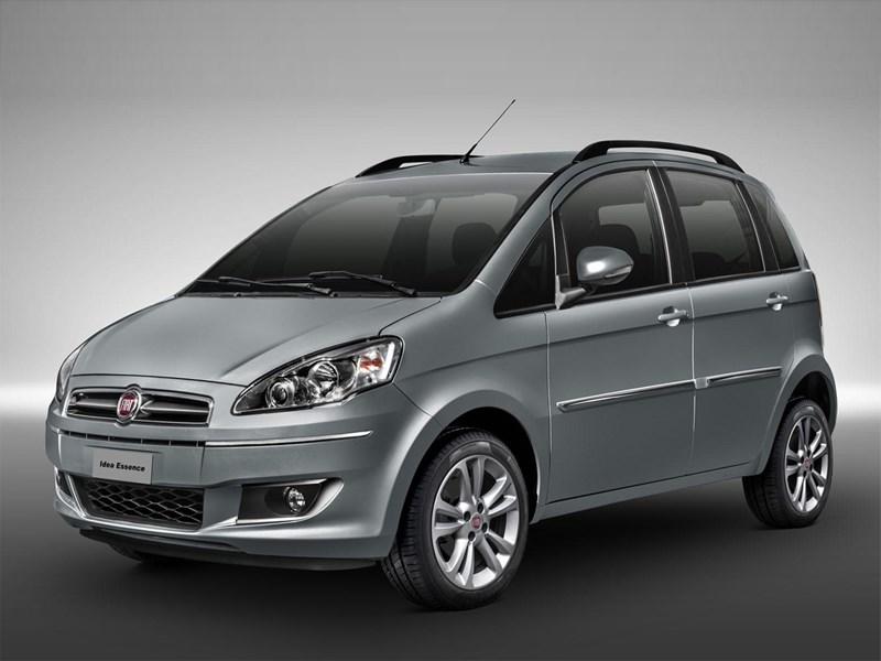 Новый Fiat Idea - Fiat Idea 2013 вид спереди