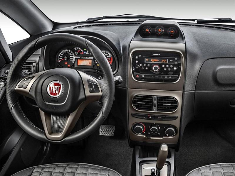 Fiat Idea 2013 водительское место
