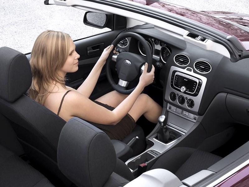 Ford Focus 2008 интерьер кузова купе-кабриолет