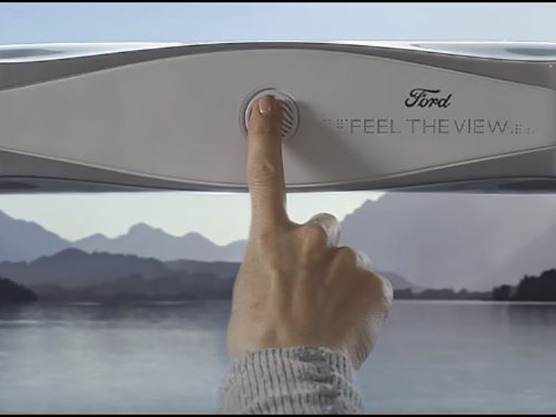 Ford придумал автомобильные «окна» для незрячих