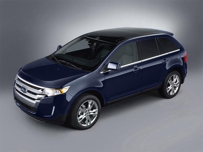 Ford Edge 2014 вид сбоку сверху фото 2