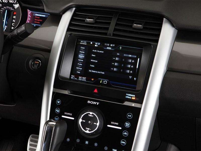 Ford Edge 2014 центральная консоль